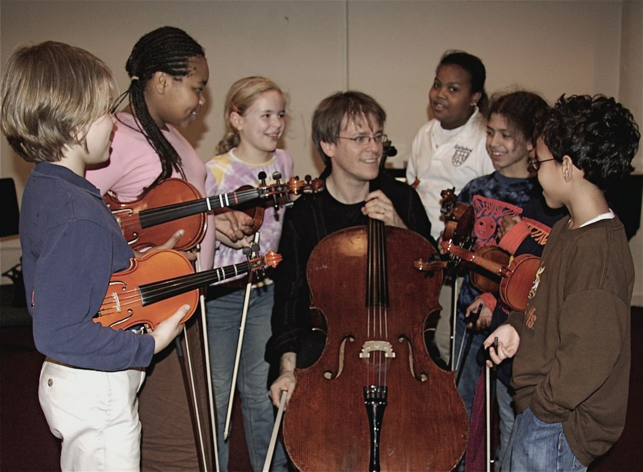 Alban at Opus 118 East Harlem Music School