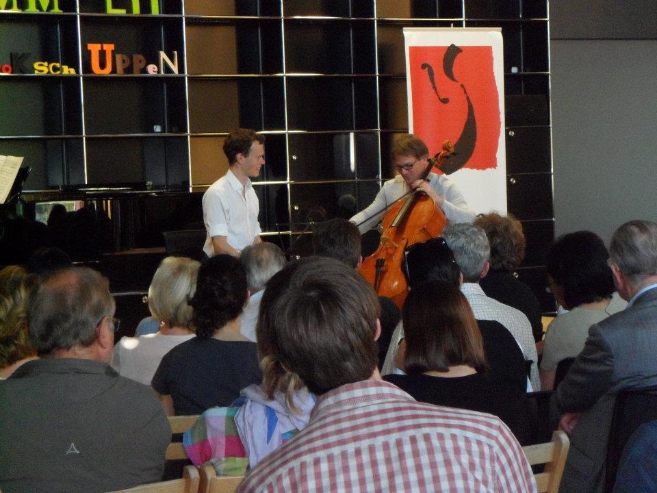 Teaching at Kronberg Cello Festival
