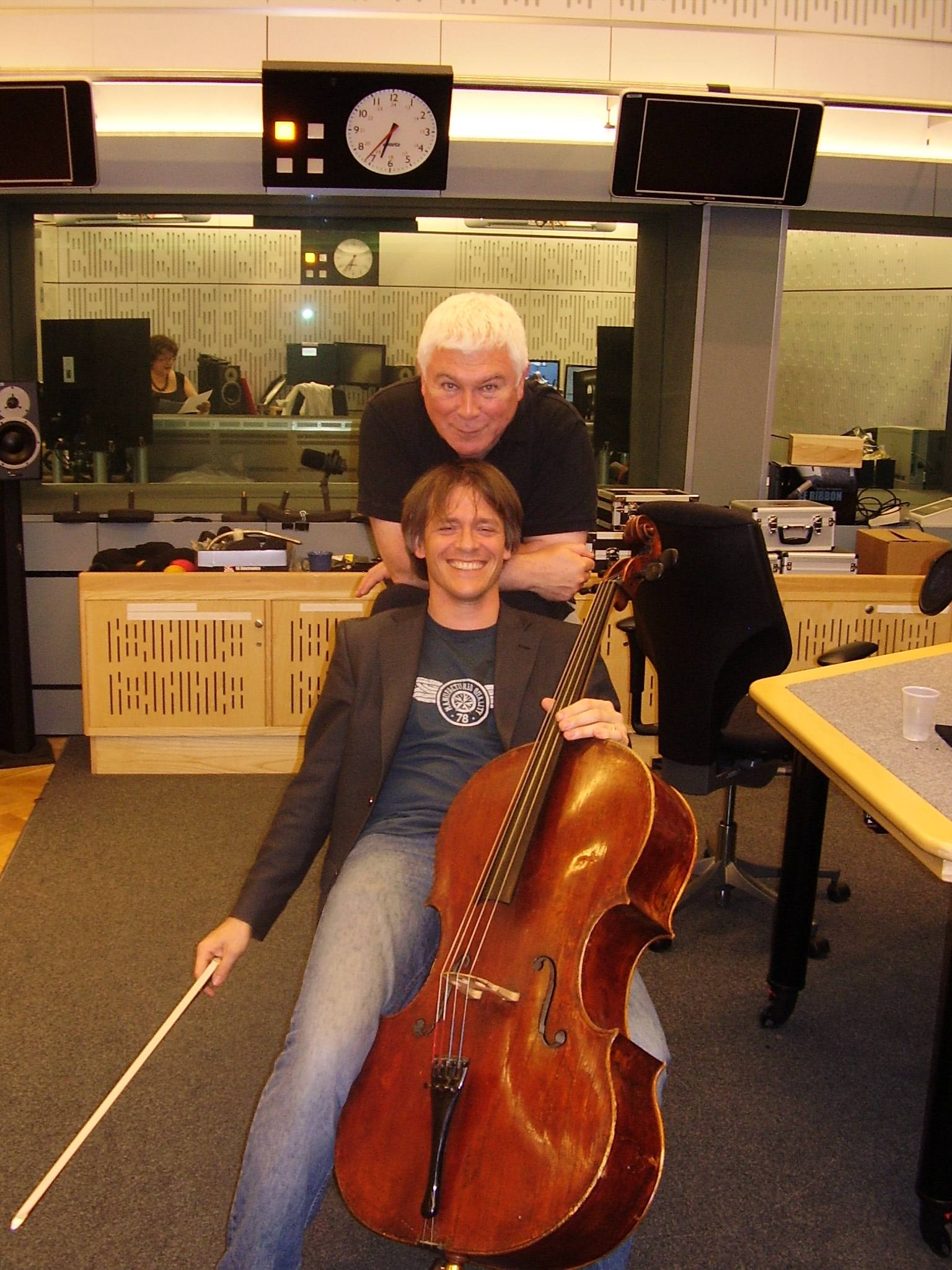 With Sean Rafferty at Intune