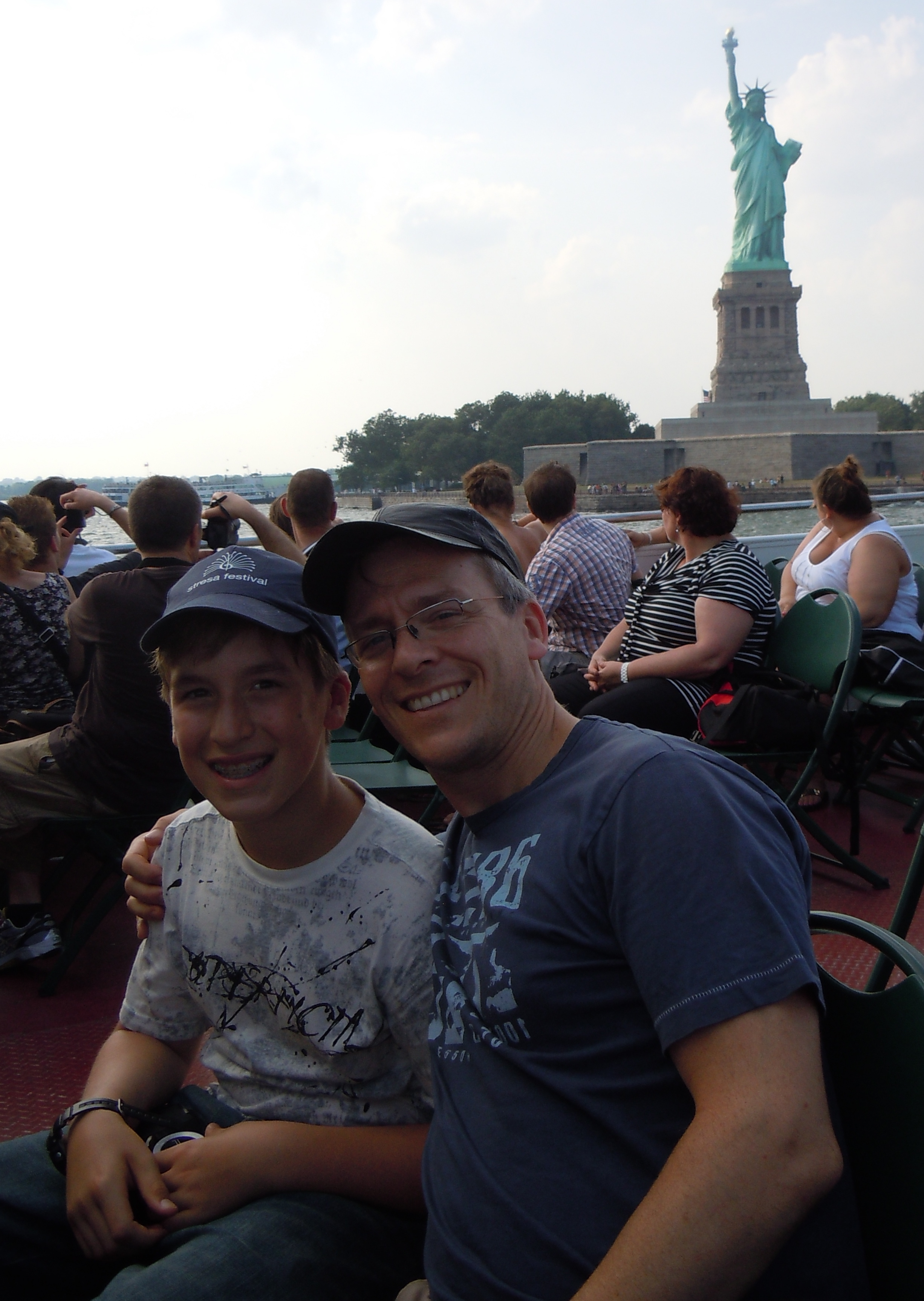 Statue of Liberty with Janos