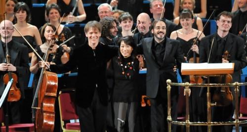 ovation after world premier